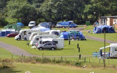 Roedd parc 'Our Welsh Caravan & Camping'