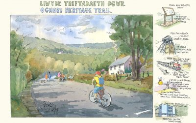 New heritage trail for the Ogmore Valley